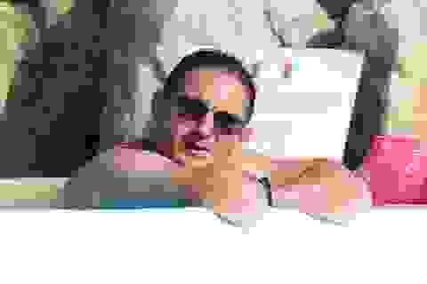 Tạm gác lại bóng đá, HLV Frank Lampard xả hơi trong kỳ nghỉ hè