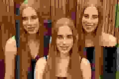 Cuộc sống kỳ lạ của ba chị em giống hệt nhau