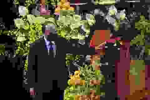 Lễ viếng nguyên Tổng Bí thư Lê Khả Phiêu