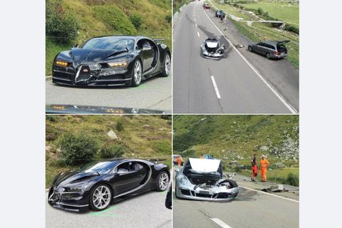 Tai nạn thiệt hại hơn 4 triệu USD vì tài xế siêu xe Bugatti 'mất kiên nhẫn'