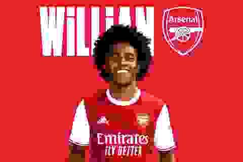 Rời Chelsea, Willian chính thức gia nhập Arsenal