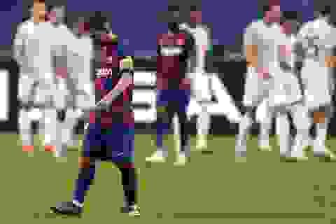 Messi thảm bại cùng Barcelona: Mệt mỏi quá, thân phận dã tràng!