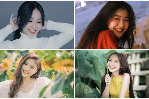 Những thiếu nữ xinh đẹp, sở hữu nụ cười tỏa nắng