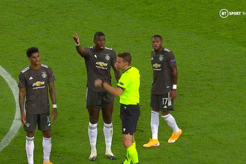 Trọng tài mắc sai lầm khiến Man Utd hứng chịu bàn thua oan uổng?