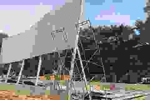 Sập công trình nhà xưởng, 3 công nhân trọng thương