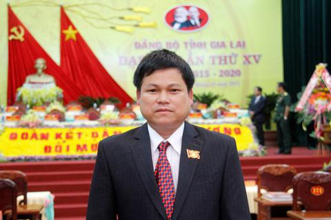 Trưởng Ban Tổ chức Tỉnh ủy Gia Lai nhận kỷ luật cảnh cáo