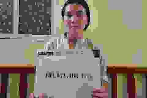 Bạn đọc Dân trí giúp đỡ bé gái mắc đa dị tật hơn 240 triệu đồng