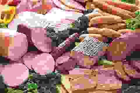 Để phòng ngừa ung thư, ăn thịt đỏ, xúc xích thế nào là vừa?