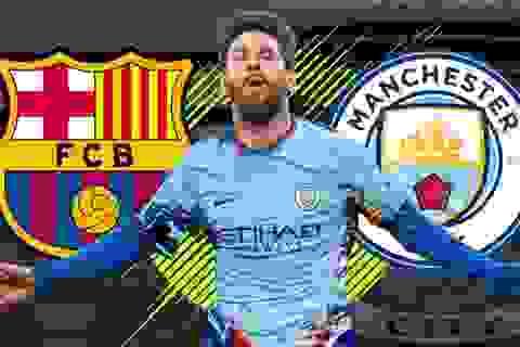 Những điểm đến tiếp theo của Messi nếu rời Barcelona