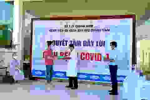 11 bệnh nhân Covid-19 ở Quảng Nam được ra viện