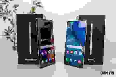 Mở hộp Galaxy Note 20 sắp mở bán: cấu hình mạnh, hoàn thiện cao cấp