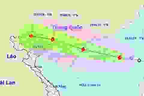 Hình thành bão số 4 trên Biển Đông