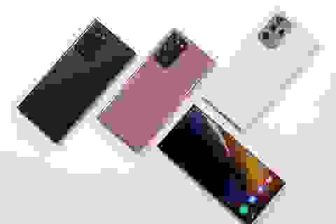 Đọ thời lượng pin Galaxy Note20 Ultra cùng loạt smartphone cao cấp