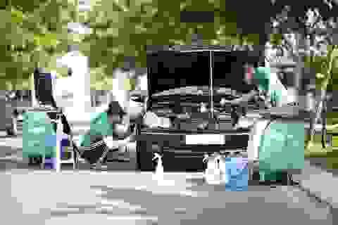 Dịch vụ vệ sinh xe tận nơi và diệt khuẩn chính thức ra mắt ứng dụng