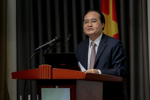Bộ trưởng Nhạ khuyến khích trường đại học áp dụng chỉ số UPM để xếp hạng