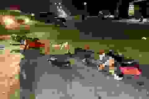 """Xác định tài xế container """"đụng"""" chết 2 người vẫn thản nhiên lái xe về kho"""