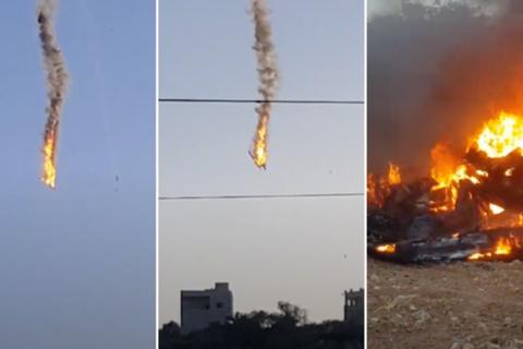 """Hai máy bay không người lái nghi của Mỹ đâm nhau ở """"chảo lửa"""" Syria"""