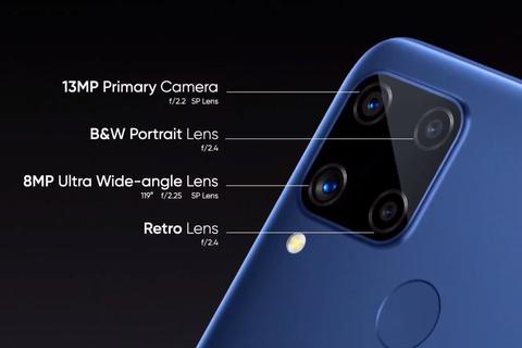 Realme ra mắt điện thoại 4 camera, pin 6.000mAh, giá từ 3 triệu đồng