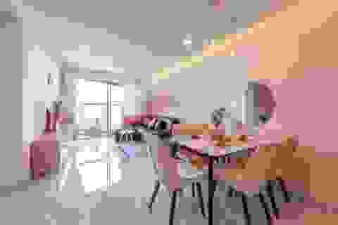 TP.HCM: Làm ngôi nhà màu hồng đẹp như cổ tích với giá rẻ không ngờ