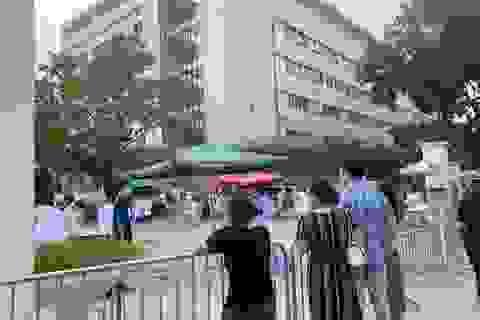 Bệnh viện E dỡ phong tỏa, hoạt động trở lại bình thường