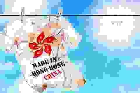 """Hồng Kông muốn khởi kiện Mỹ vì yêu cầu dán nhãn """"Made in China"""""""