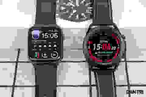 Mở hộp Galaxy Watch 3, so sánh cùng đối thủ Apple Watch
