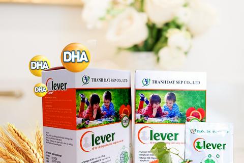Cốm Trí Não Clever: Hỗ trợ cung cấp dưỡng chất để trẻ phát triển toàn diện
