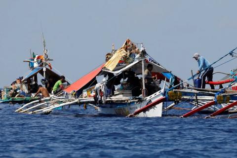 Philippines gửi công hàm phản đối Trung Quốc ở Biển Đông