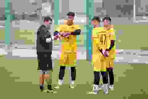 """Thủ môn Văn Toản không có """"đối thủ"""" ở U22 Việt Nam"""