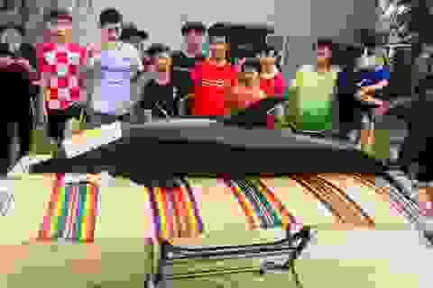 """""""Cá Ông"""" nặng gần 3 tạ chết trên sông Trường Giang"""