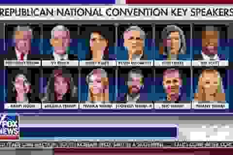 Những bài phát biểu được chờ đợi nhất tại đại hội đảng Cộng hòa Mỹ