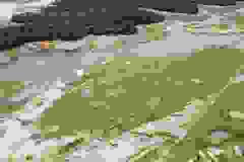 Có một sân bay LiBi đang nằm dưới lòng hồ Kẻ Gỗ