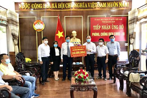 Liên đoàn Luật sư Việt Nam ủng hộ Đà Nẵng, Quảng Nam phòng chống Covid-19