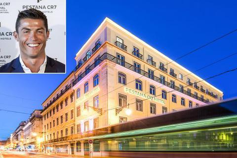 Mở thêm khách sạn, C.Ronaldo cạnh tranh trực tiếp với Ryan Giggs