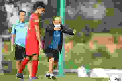 Đội tuyển Việt Nam tập trung sau khi V-League kết thúc