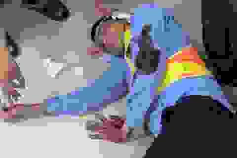 2 nhân viên trạm BOT vô cớ bị hành hung trọng thương