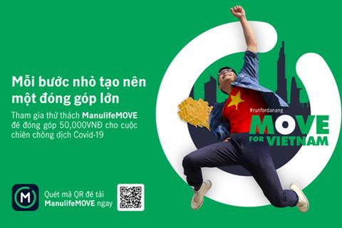 Tham gia thử thách 'MOVE vì Việt Nam' tiếp sức chống dịch