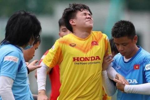 Tiền đạo U22 Việt Nam chia tay HLV Park Hang Seo vì chấn thương