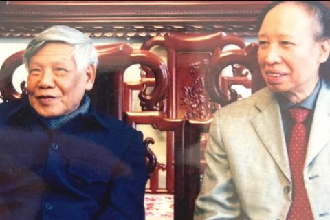 Cuộc gặp gỡ nghĩa tình 13 năm trước với nguyên Tổng Bí thư Lê Khả Phiêu