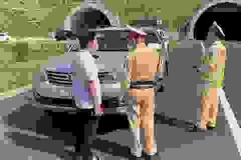 Bắt xe ô tô chở người từ vùng dịch Đà Nẵng về Quảng Bình