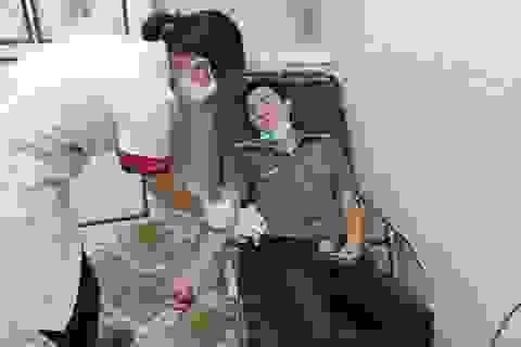 Trung úy Công an 2 lần hiến máu khẩn cấp cứu người qua cơn nguy kịch