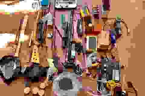 Siết vòng vây triệt xóa đường dây mua bán ma túy, chế tạo vũ khí
