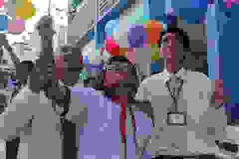 TPHCM: Chỉ đại diện học sinh lớp dự lễ khai giảng
