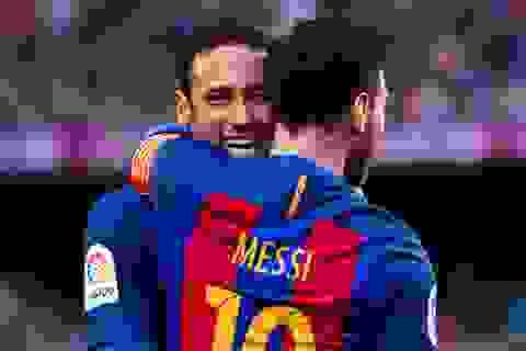 Neymar thúc giục PSG vung tiền chiêu mộ Messi