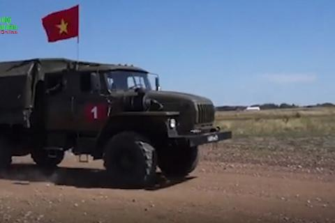 """Đội tuyển Việt Nam đứng thứ 3 nội dung """"Pháo thủ giỏi"""" tại Army Games"""