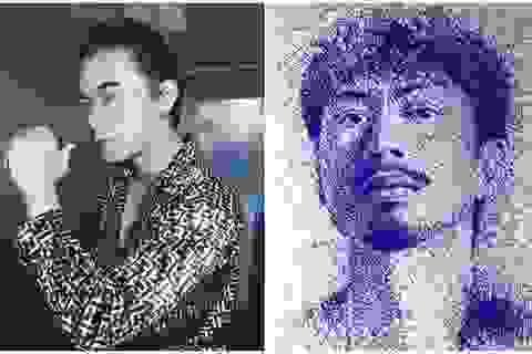 Chàng trai Đà Nẵng bất ngờ nổi tiếng nhờ tài vẽ tranh chân dung