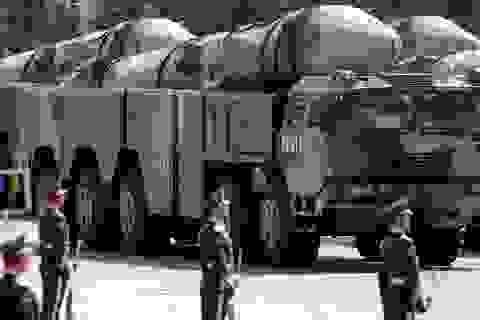 Mỹ nói Trung Quốc phóng 4 tên lửa đạn đạo ra Biển Đông