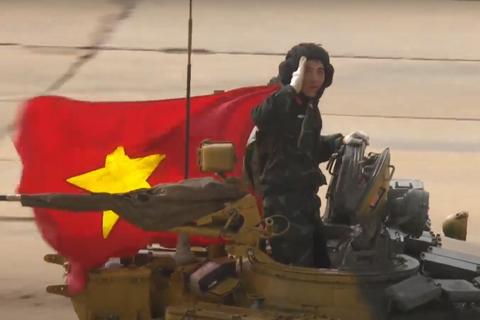Xe tăng Việt Nam về nhì trong trận thi đấu thứ 3 tại Army Games