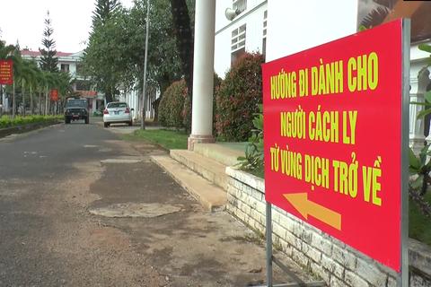 Đắk Nông đón gần 200 công dân có nguyện vọng trở về từ Đà Nẵng