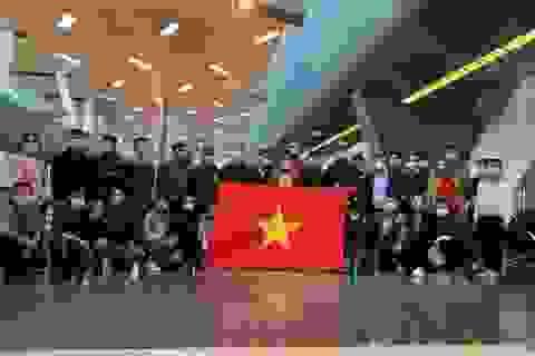 Người Việt tại châu Phi vui mừng tham gia chuyến bay hồi hương